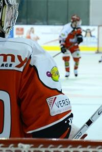 Hockey-sur-glace. Dogs Cholet - Cergy