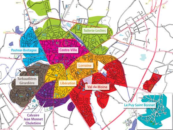 Plan De Ville Cholet