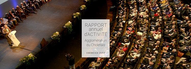 Rapport d'activité 2017 - Agglomération du Choletais