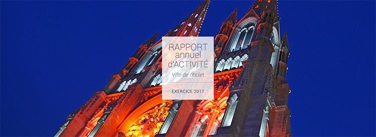 Rapport d'activité 2017 - Ville de Cholet