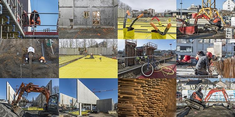 Le chantier des Halles - Galerie photos