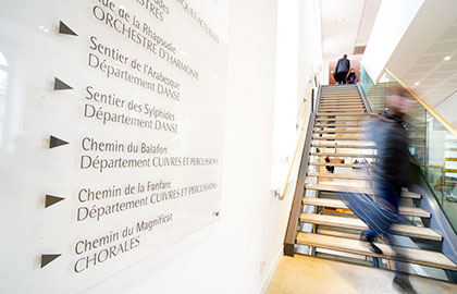 Inscriptions au Conservatoire du Choletais